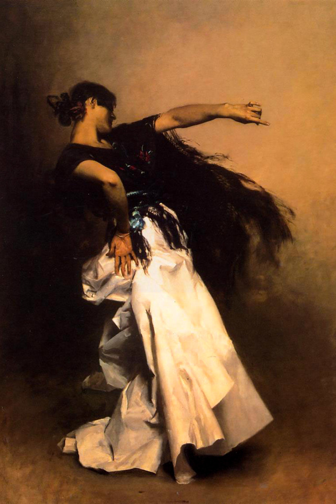 Spanish Dancer study for El Jaleo
